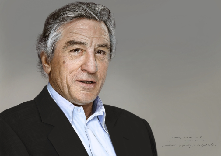 Portrait of Robert De Niro