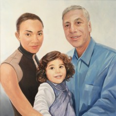 Portret hiszpańskiej rodziny