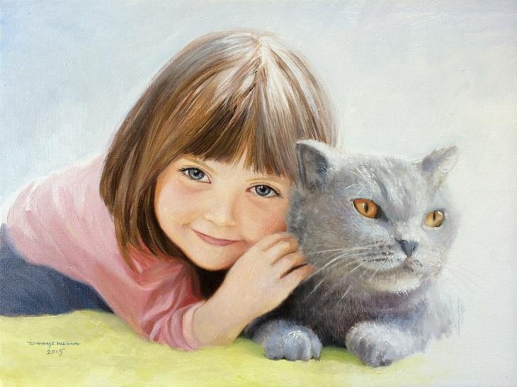 portret-dziewczynki