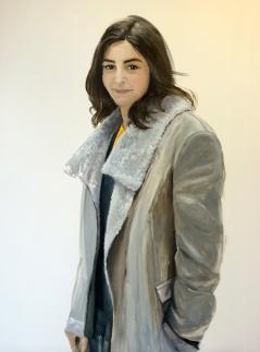 Dziewczyna w skórzanej kurtce