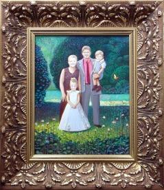 Portret francuskiej rodziny